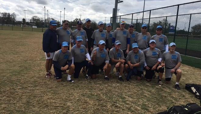 The Lane Construction 70s softball team of Palm Bay has won three Florida Half Century League tournament in a row.