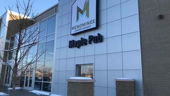 The Maple Pub, a tavern and eatery inside Menominee Nation Arena, is now open.