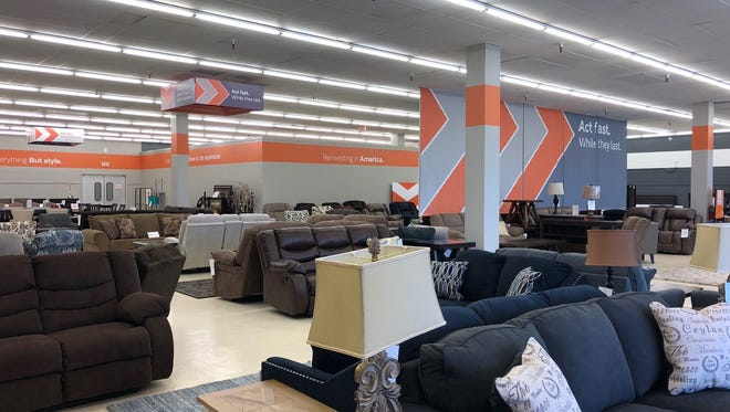 Clarksville's new Ashley Home Store Outlet, at 1153 FortCampbell Blvd., will hold a grand opening Saturday.