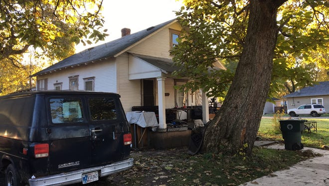 A house in Whitely targeted for removal by the Muncie Sanitary District.