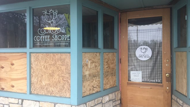 Cookoo's Coffee Shoppe in Madisonville had an armed robbery and three break-ins within six days in February.