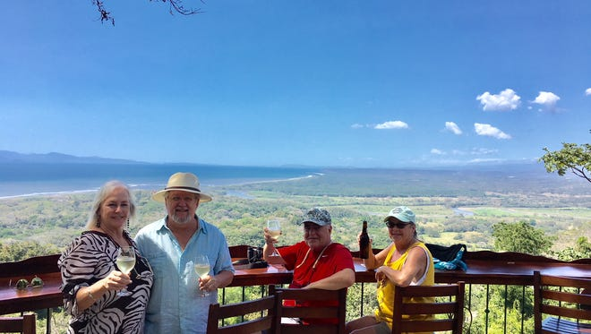 Patty and Tom Biazzo and Tom and Sibyl White were robbed while they slept during a February vacation in Costa Rica.