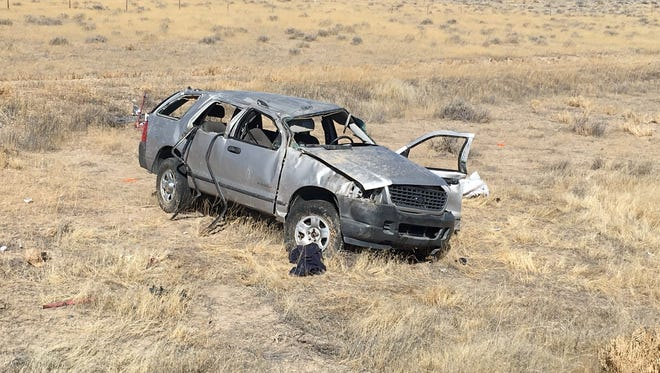 A single-vehicle rollover on Interstate 80 near Lovelock  claimed the life of a  passenger on Monday, March 5, 2018 about 14 miles west of Lovelock.