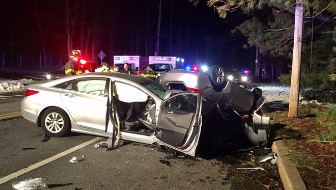 A 33-year-old man was killed Thursday night on Silverside Road in Brandywine Hundred.