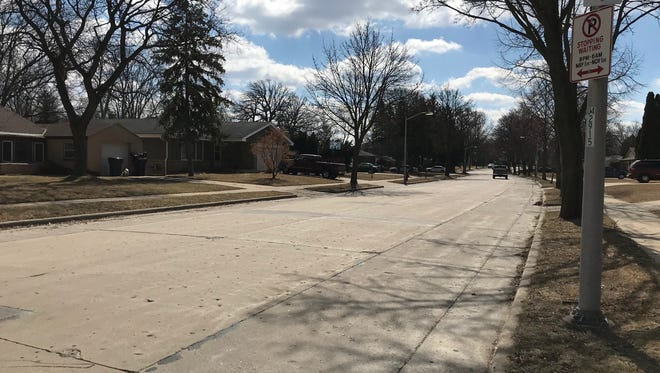 The quiet residential 106th Street just north of Oklahoma Avenue was in the target area of a rash of thefts from cars the night of March 13.
