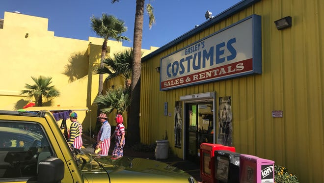 The store hasn't offered a specific closing date, only saying that it would remain open for Halloween.