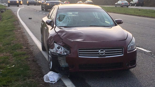 State police is investigating a crash Thursday that killed a pedestrian on Pulaski Highway.