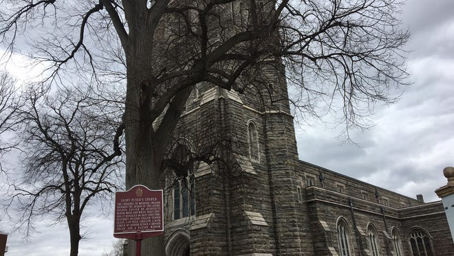 St. Peter's Episcopal Church on South Street in Morristown.