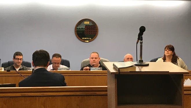 Helmetta Borough Council voted Wednesday to disband its police department and enter into a shared services agreement with Spotswood for police services.