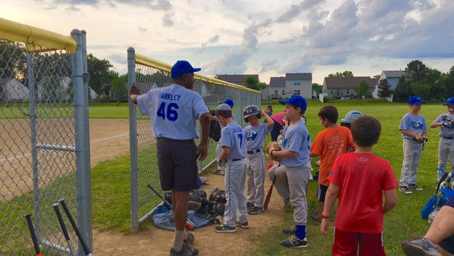 Ardell Barkley III led the Mayerson JCC Bluejays to a Knothole Championship