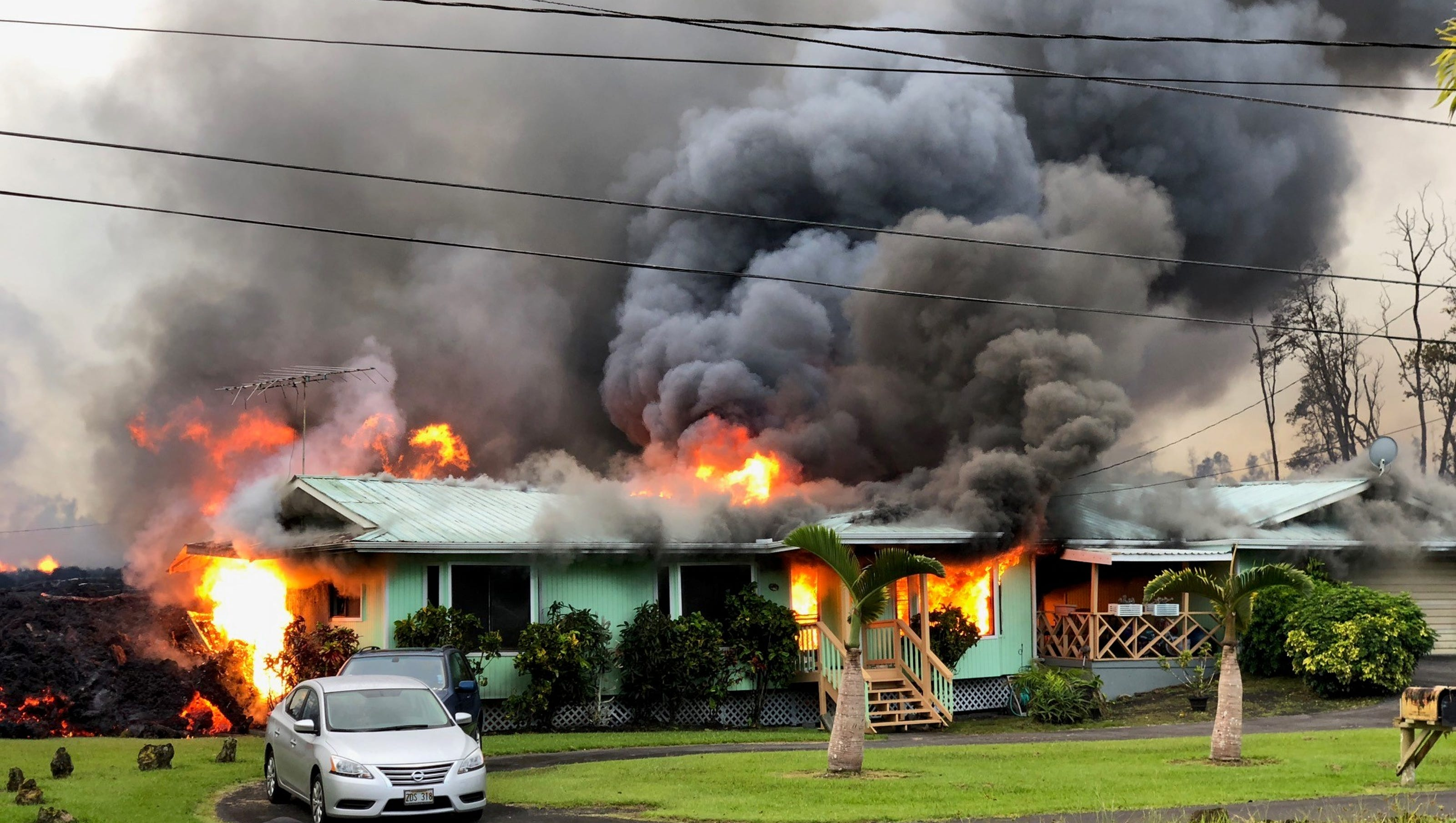 Image result for Exploding houses and poisoned water