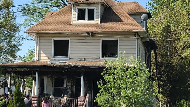A Netherwood Avenue home in Plainfield was heavily damaged in an early morning fire.