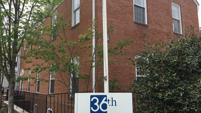 Former Gov. Chris Christie has set up an office on Dehart Street in Morristown.