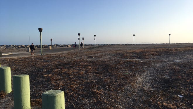 Port Hueneme owns this land at Market Street and Surfside Drive. The city debated selling it, but the City Council voted against it Monday night.