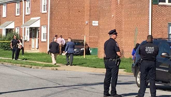 Wilmington police are investigating a scene in the city's Riverside neighborhood.