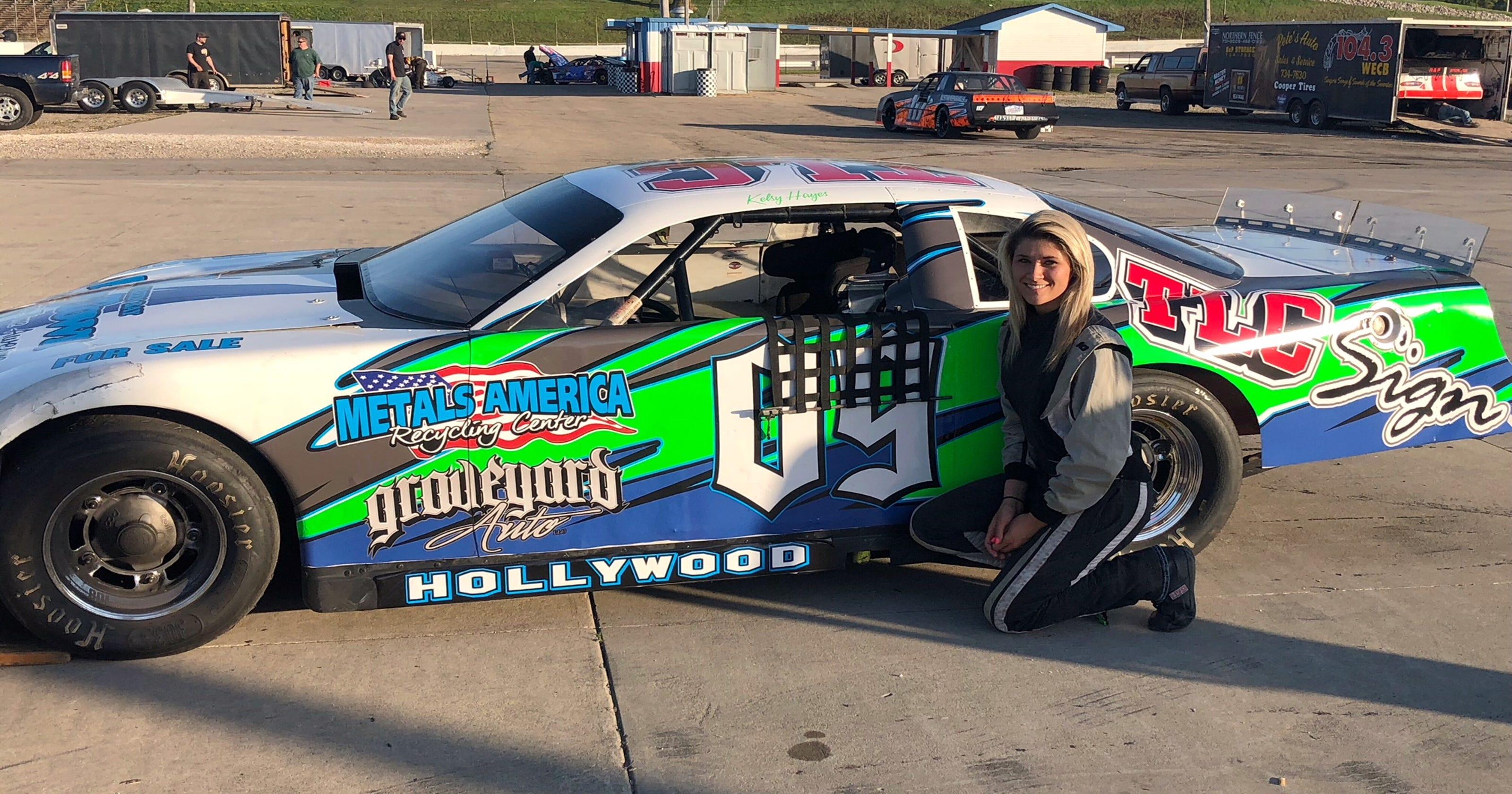 Auto racing: Kelsy-Ann Hayes takes on WIR asphalt