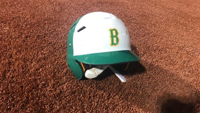 Bishop Baseball Helmet