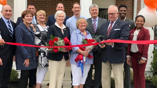 A ribbon cutting was held at Woodmont Cove in South Amboy on Thursday.