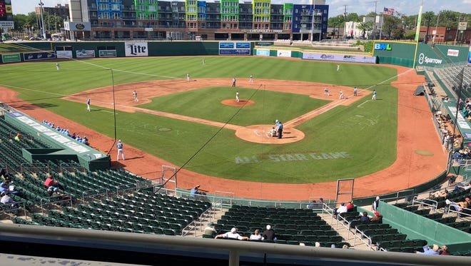 The Lansing Lugnuts announced Monday that they've extended the protective netting beyond the home plate area at Cooley Law School Stadium.
