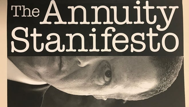 Author Stan Haithcock outlines four annuity-purchase considerations in this book.