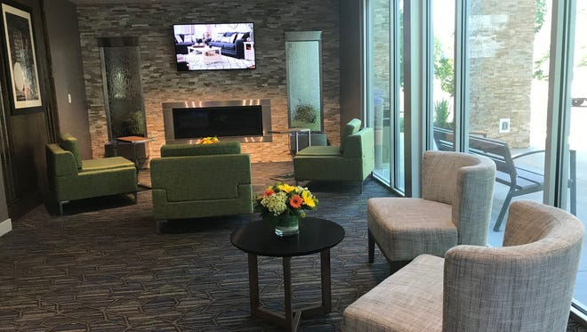 Holiday Inn Express & Suites is open for business on Route 1 in North Brunswick.
