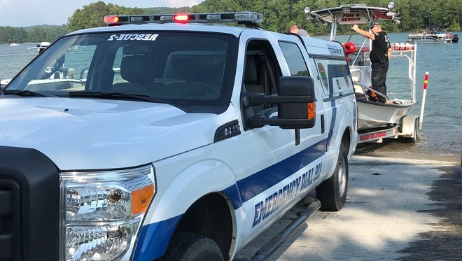 An Oconee County Emergency Services dive team was at Lake Keowee within 10 minutes after a reported drowning at a popular recreation area.