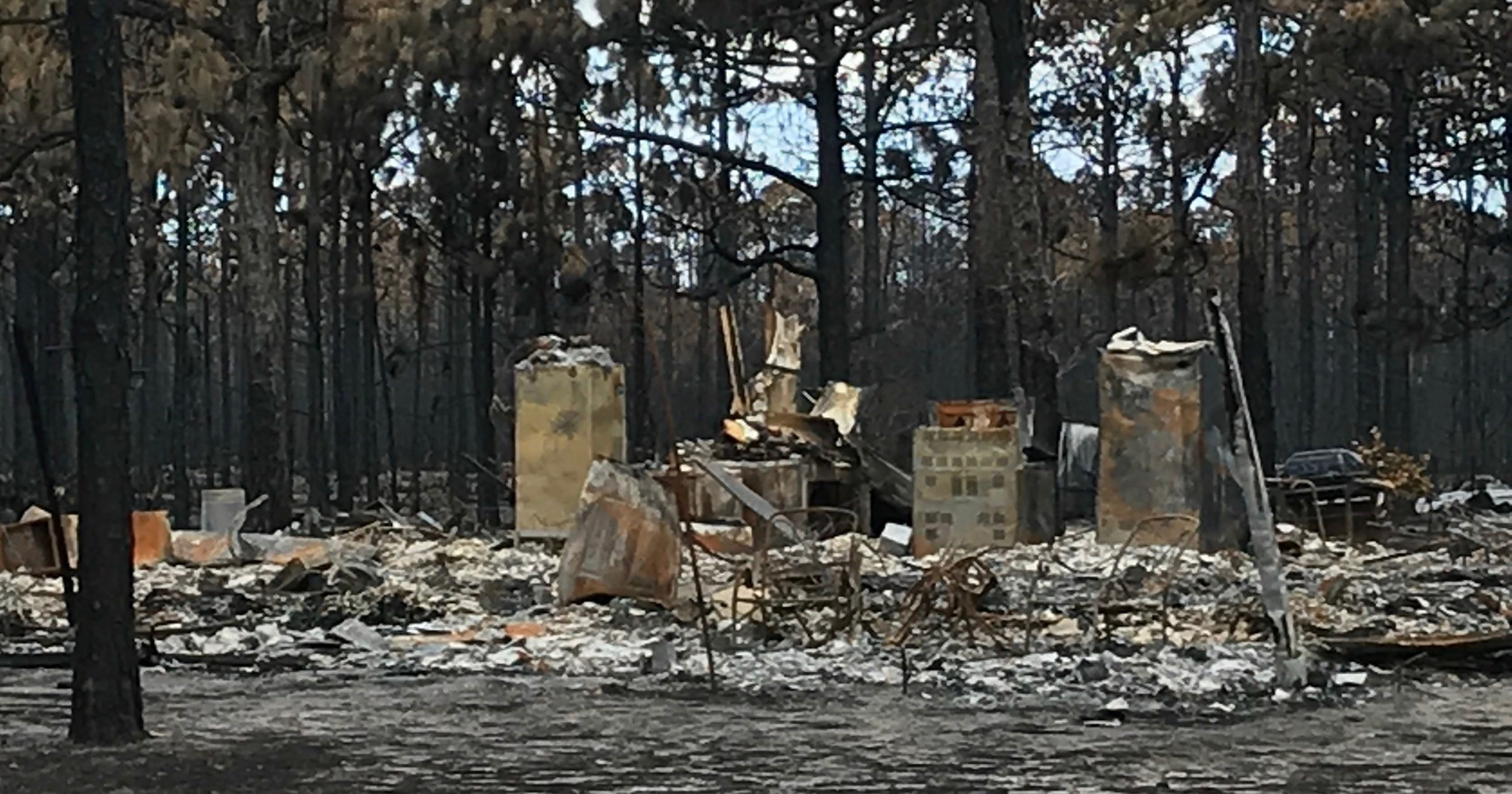 Tallahassee crews to help clean up debris from Eastpoint wildfire