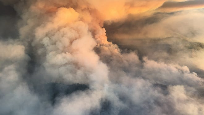 The Southern Oregon wildfires have brought hazardous air to multiple cities.