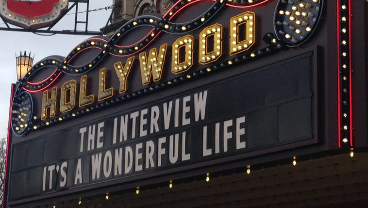 The Interview was shown at several Portland theaters