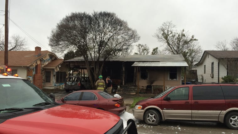 A family escaped an early morning house fire and they