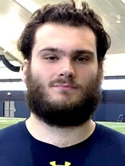 Lakeland High grad and Wayne State University offensive lineman Nate Theaker will report to the Dallas Cowboys mini-camp, May 12-13.