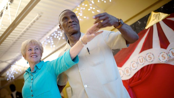 Kathy Martin of Rochester Hills will dance with her physician, Dr. Samson K. Kpadenou.