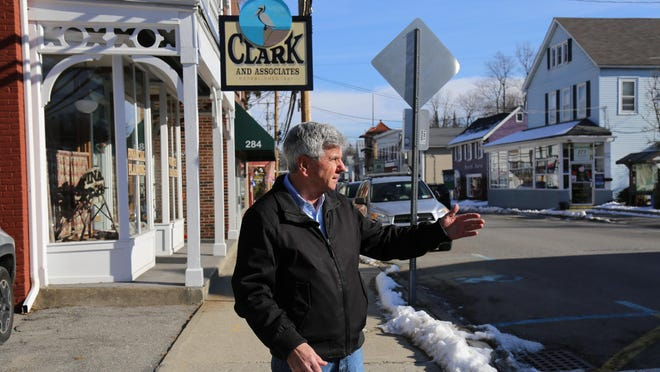 Town of Cornwall Supervisor Richard Randazzo talks about a Main Street renovation project expected to be completed by the end of this year.