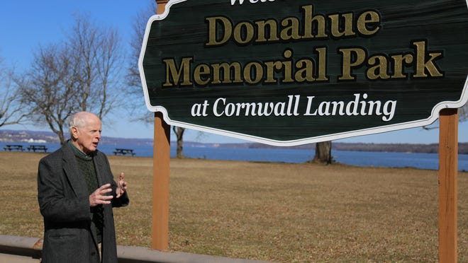 Cornwall-on-Hudson Mayor Brendan Coyne highlights the Donahue Memorial Park in this year's budget.