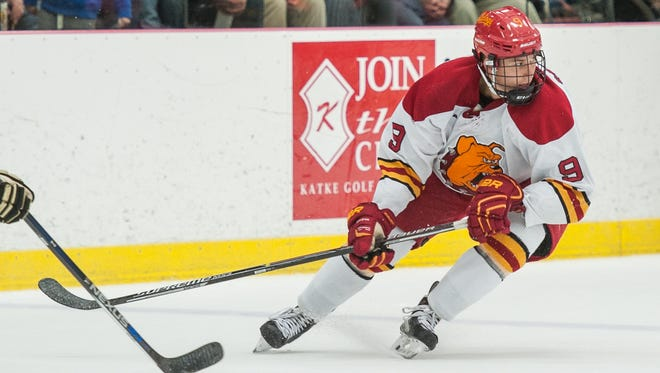 Battle Creek's Chad McDonald is now a junior for the Ferris State University men's hockey team.