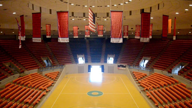 Oman Arena, which is nearly 50 years old, still hosts events such as graduations, wrestling matches and basketball games.