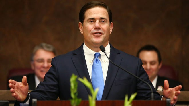 Gov. Doug Ducey said his 15 proposals for education are aimed at one goal: closing the achievement gap for poor and minority students. Now the question is how to pay for it.