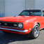 This red Chevrolet Camaro custom coupe is scheduled for auction at Barrett-Jackson Scottsdale on Monday, Jan. 16, 2017.