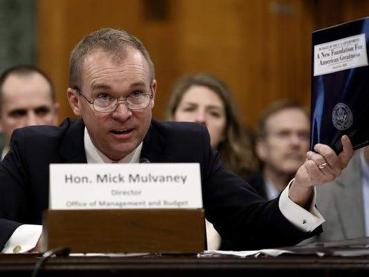 OMB Director Mick Mulvaney Testifies Before Senate Budget Committee