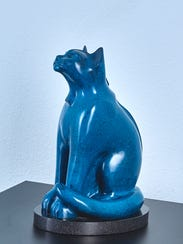 """""""Space Cat"""" by Lucius Upshaw."""