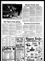 Battle Creek Sports History: Week of April 28, 1976