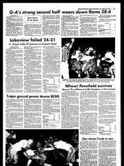 Battle Creek Sports History: Week of Sept. 22, 1976