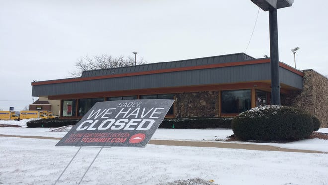 The Pizza Hut at 1940 Main St. in Green Bay closed on Feb. 29.