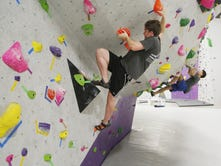 Area climbers can find their vertical challenge indoors