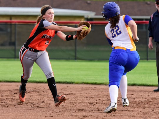 Gibsonburg's Libby Henderson earned honorable mention all-Ohio status.