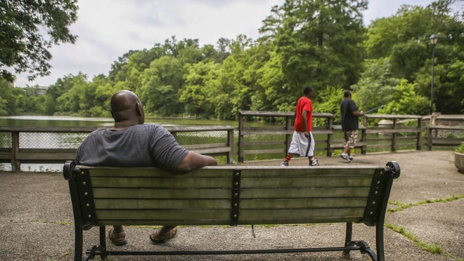 Burnet Woods, a 90-acre park in Clifton, would be among the recipients of money from Cincinnati Mayor John Cranley's proposed parks levy.