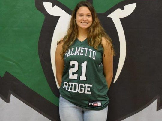 Sandralee Benedict, Palmetto Ridge girls basketball