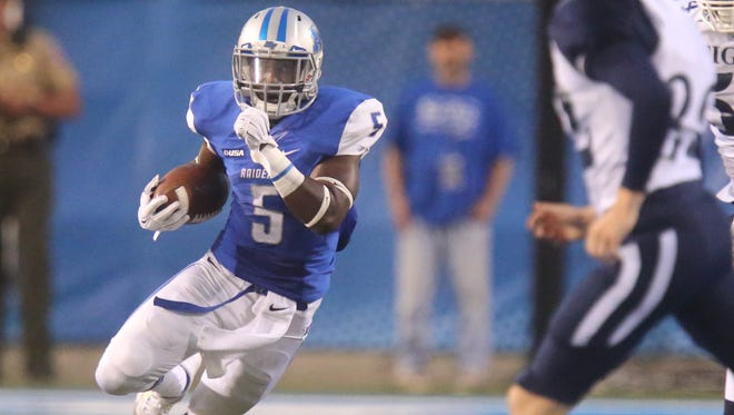 Running back Jeremiah Bryson said he is prepared to help in any way possible this week when the Blue Raiders travel to Tuscaloosa to face the Crimson Tide.