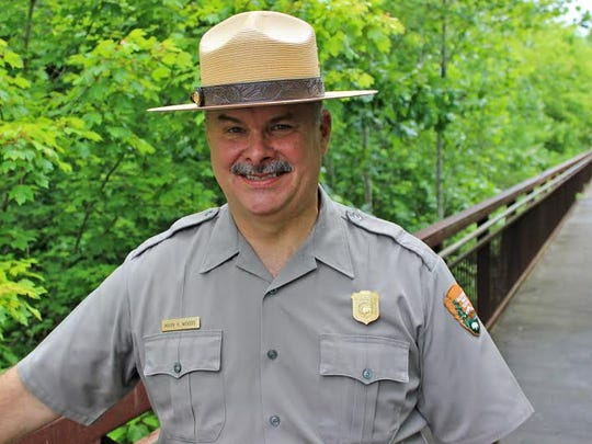 Blue Ridge Parkway Superintendent Mark Woods.