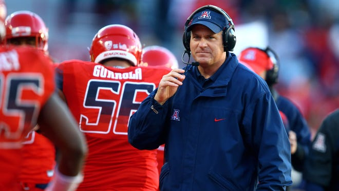 """Arizona coach Rich Rodriguez says a proposed rule change to alter college football clock management policy is """"ridiculous."""""""